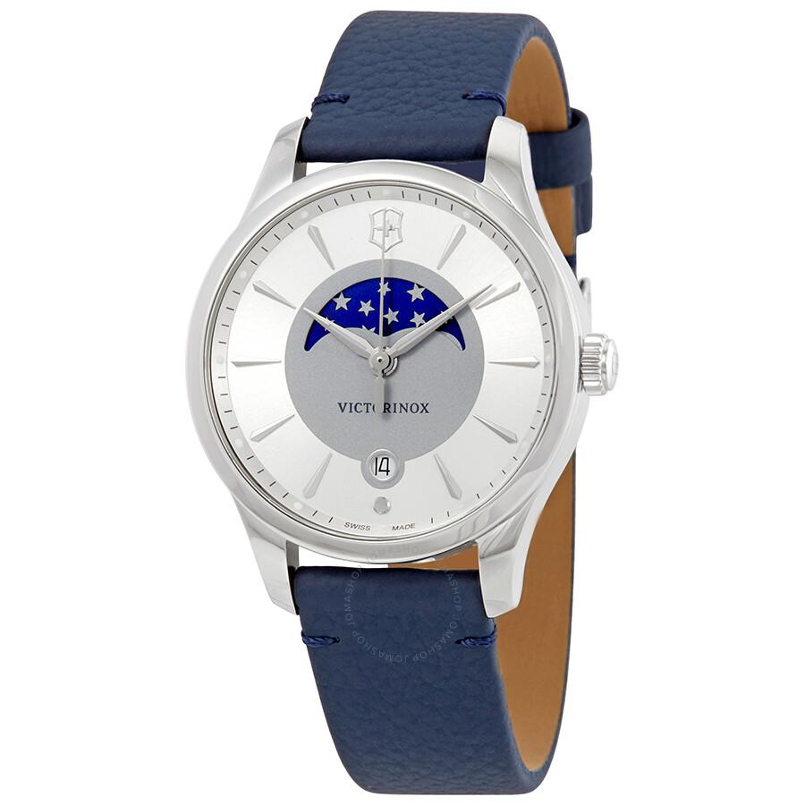 Victorinox Alliance Small Silver Dial Ladies Watch 241832 - Alliance ... 5bcf45549365