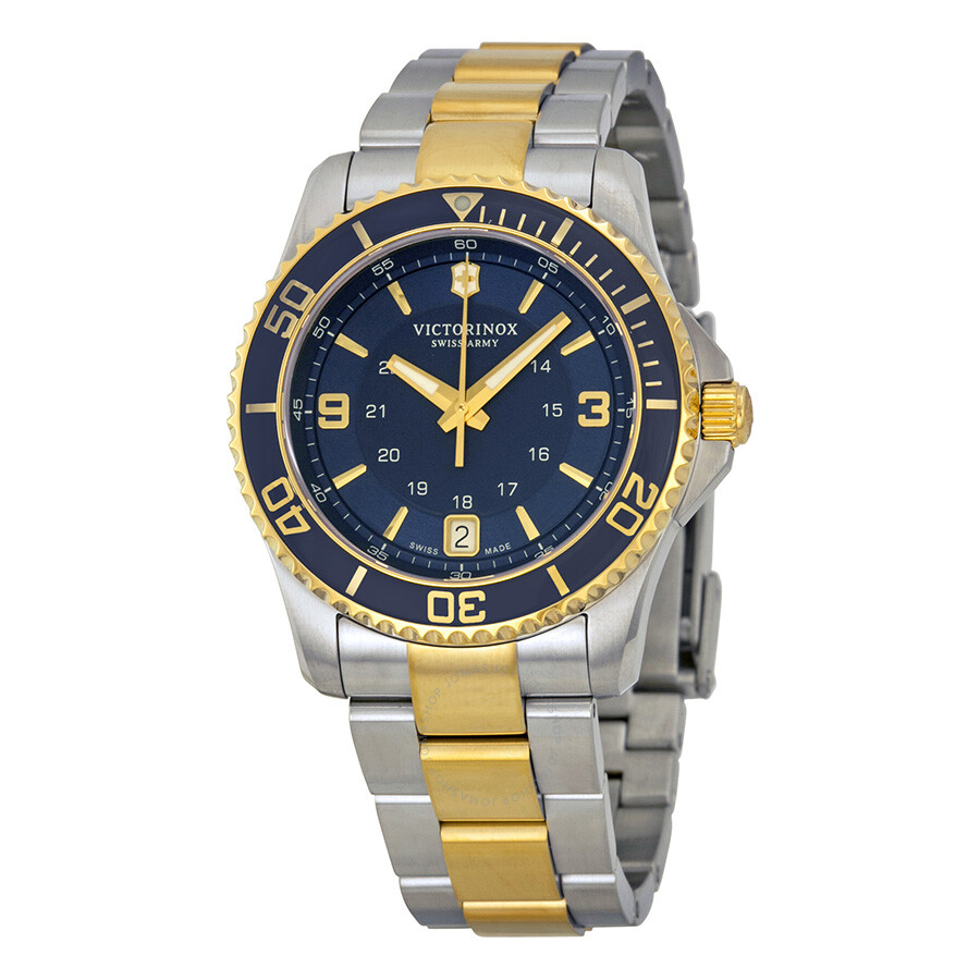 Victorinox maverick blue dial ladies watch 249080 maverick victorinox watches jomashop for Victorinox watches