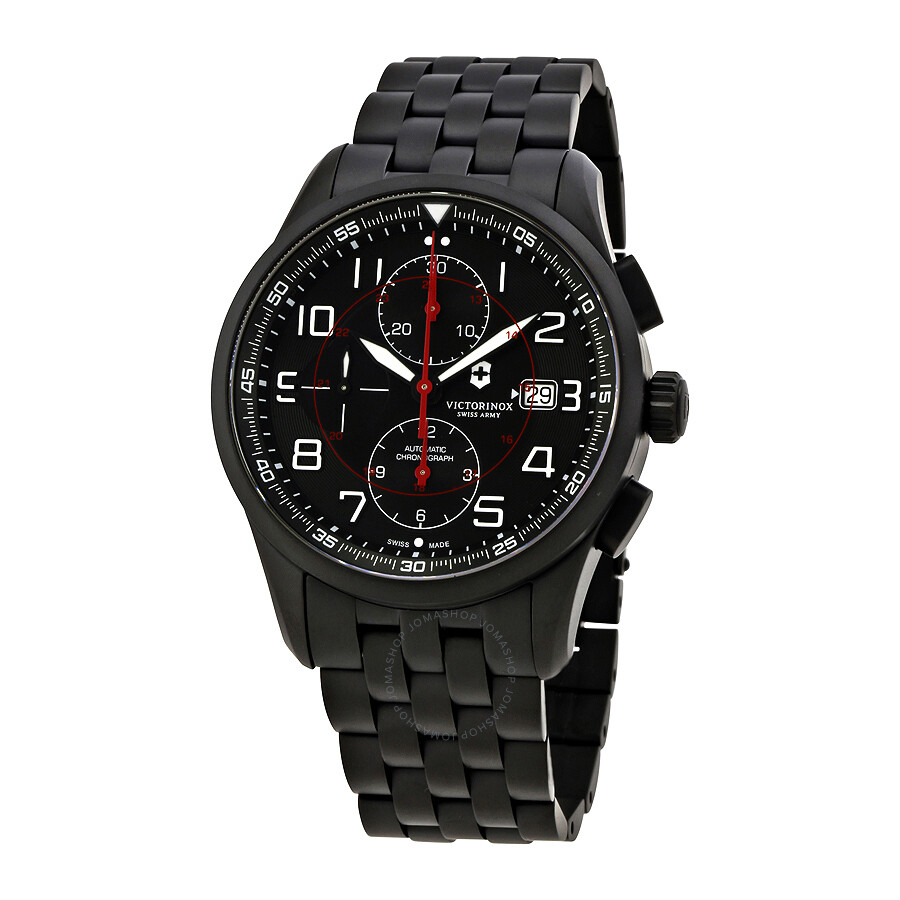 Victorinox swiss army airboss chronograph automatic men 39 s watch 241741 airboss victorinox for Victorinox watches