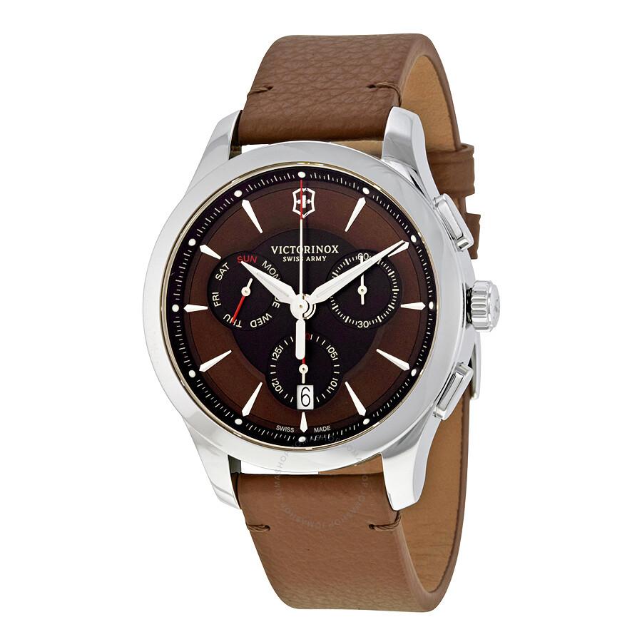 62b0e1228a75e Victorinox Swiss Army Alliance Chronograph Men's Watch 241749 ...