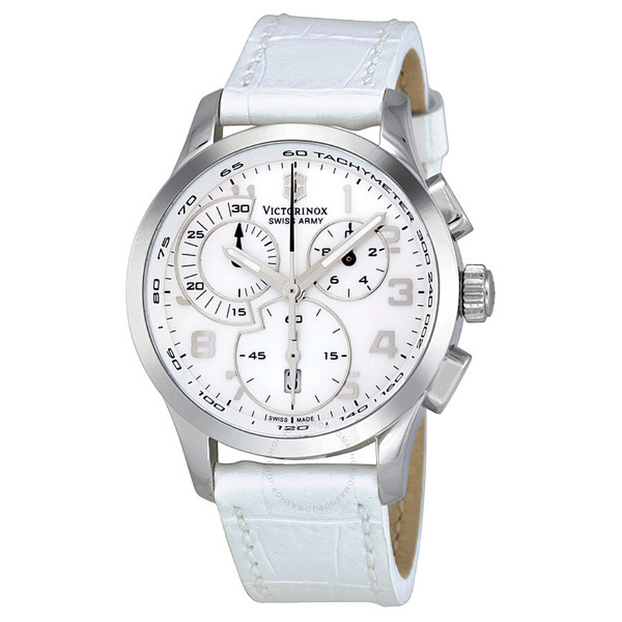 Victorinox Swiss Army Alliance Chronograph Mother of Pearl Ladies Watch  241321 ... 462650d5ba