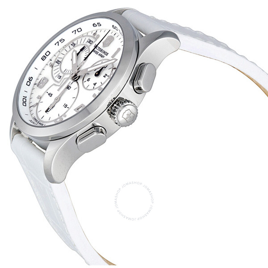 ... Victorinox Swiss Army Alliance Chronograph Mother of Pearl Ladies Watch  241321 ... e7aaabe969