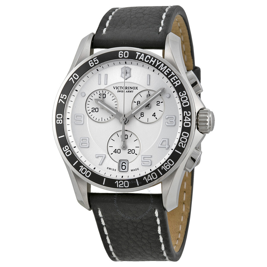 Victorinox swiss army chrono chronograph black strap men 39 s watch 241496 chrono classic for Victorinox watches