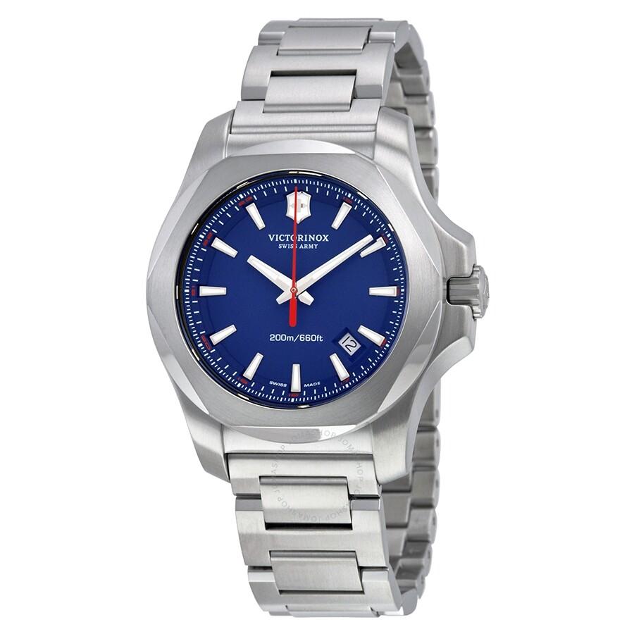 Victorinox Swiss Army I.N.O.X. Blue Dial Men's Watch