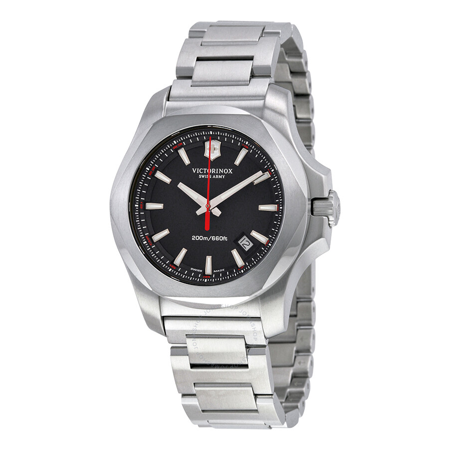 Victorinox swiss army i n o x men 39 s watch 241723 1 inox victorinox watches jomashop for Victorinox watches