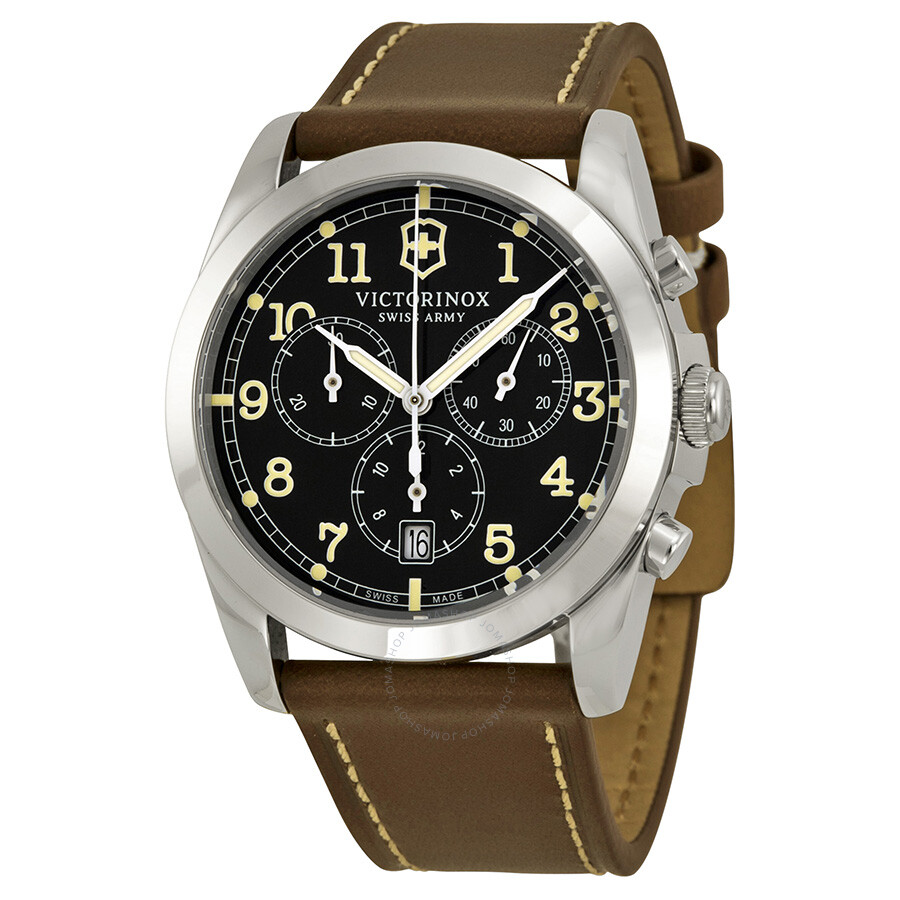 Victorinox swiss army infantry chronograph grey dial men 39 s watch 241567 infantry victorinox for Victorinox watches