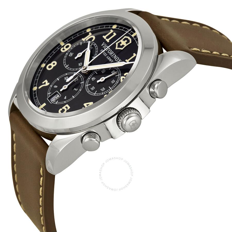 ... Victorinox Swiss Army Infantry Chronograph Grey Dial Men s Watch 241567  ... c4259e3182