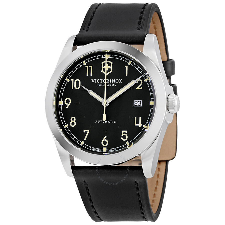 Victorinox swiss army infantry mechanical men 39 s watch 241586 infantry victorinox watches for Victorinox watches