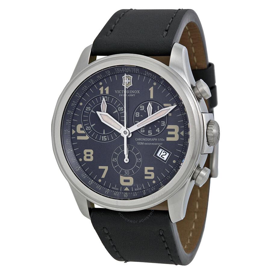 victorinox swiss army infantry vintage chronograph gray
