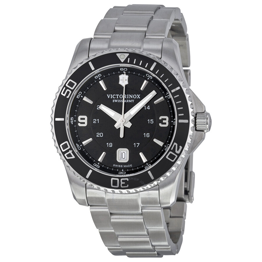 Victorinox swiss army maverick black dial men 39 s watch 241697 maverick victorinox watches for Victorinox watches