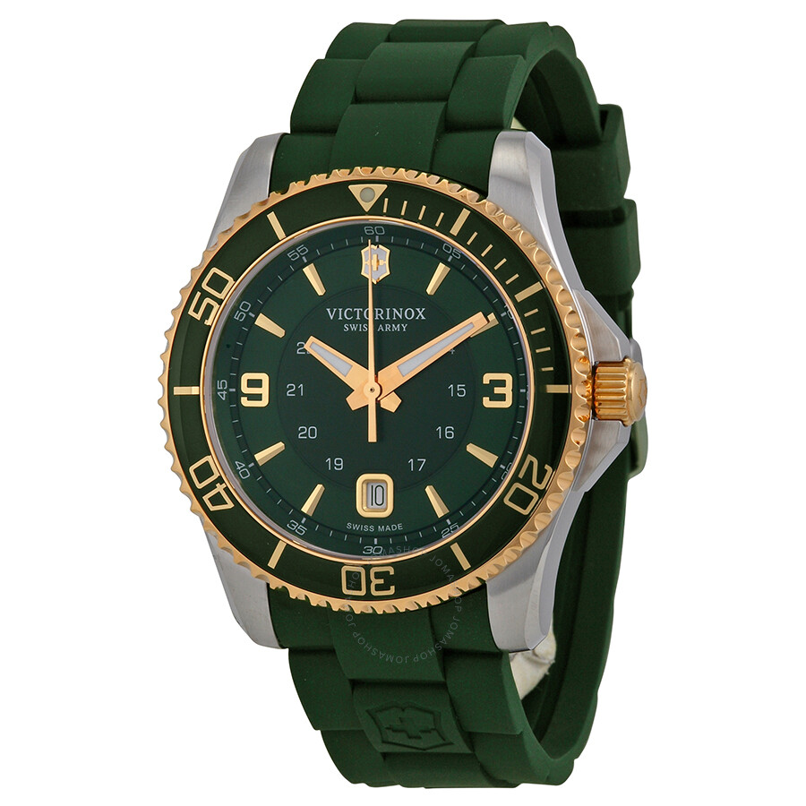 Victorinox swiss army maverick green dial men 39 s watch 241606 maverick victorinox watches for Victorinox watches