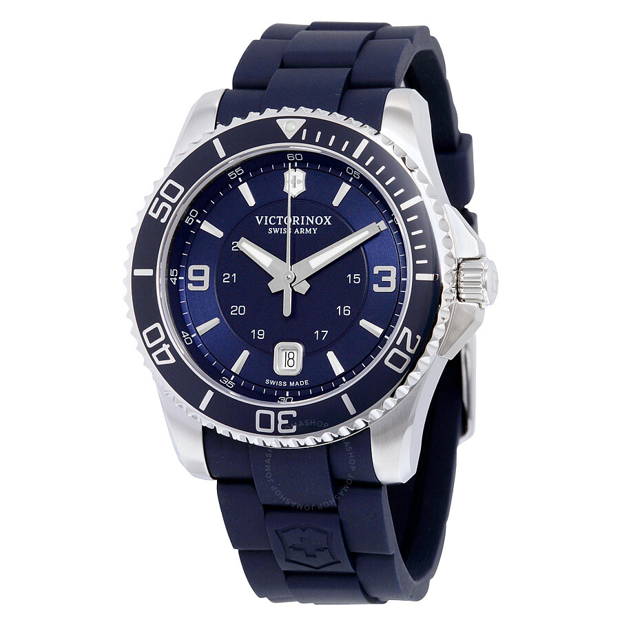 Victorinox swiss army maverick gs navy dial men 39 s watch 241603 maverick victorinox watches for Victorinox watches