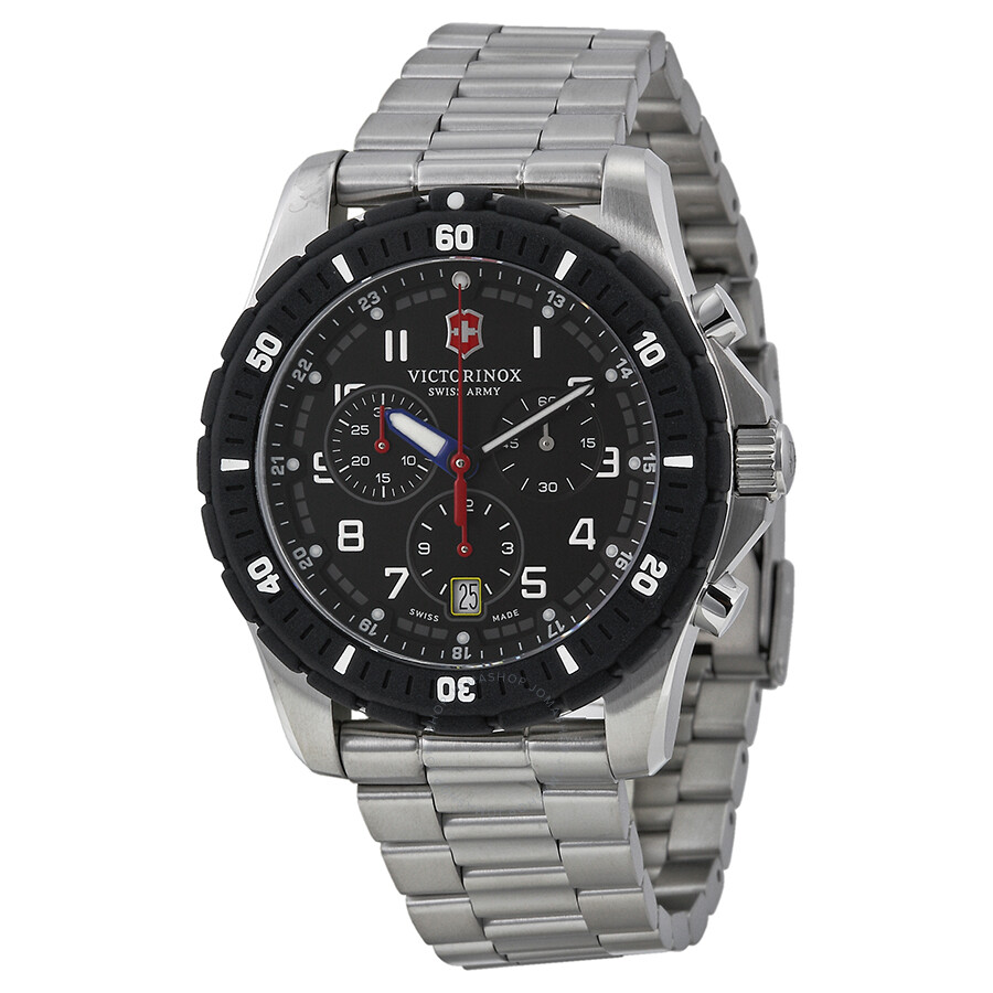 Victorinox swiss army maverick sport chronograph men 39 s watch 241679 maverick victorinox for Victorinox watches