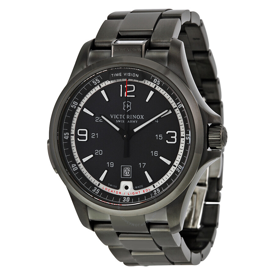 Army Men's 241665 Watch Swiss Grey Vision Night Victorinox Dark Dial oBQCrdxeW