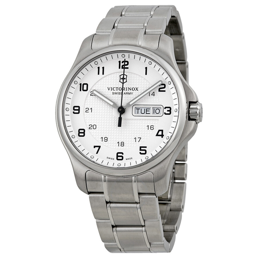 victorinox swiss army officers day and date men 39 s watch