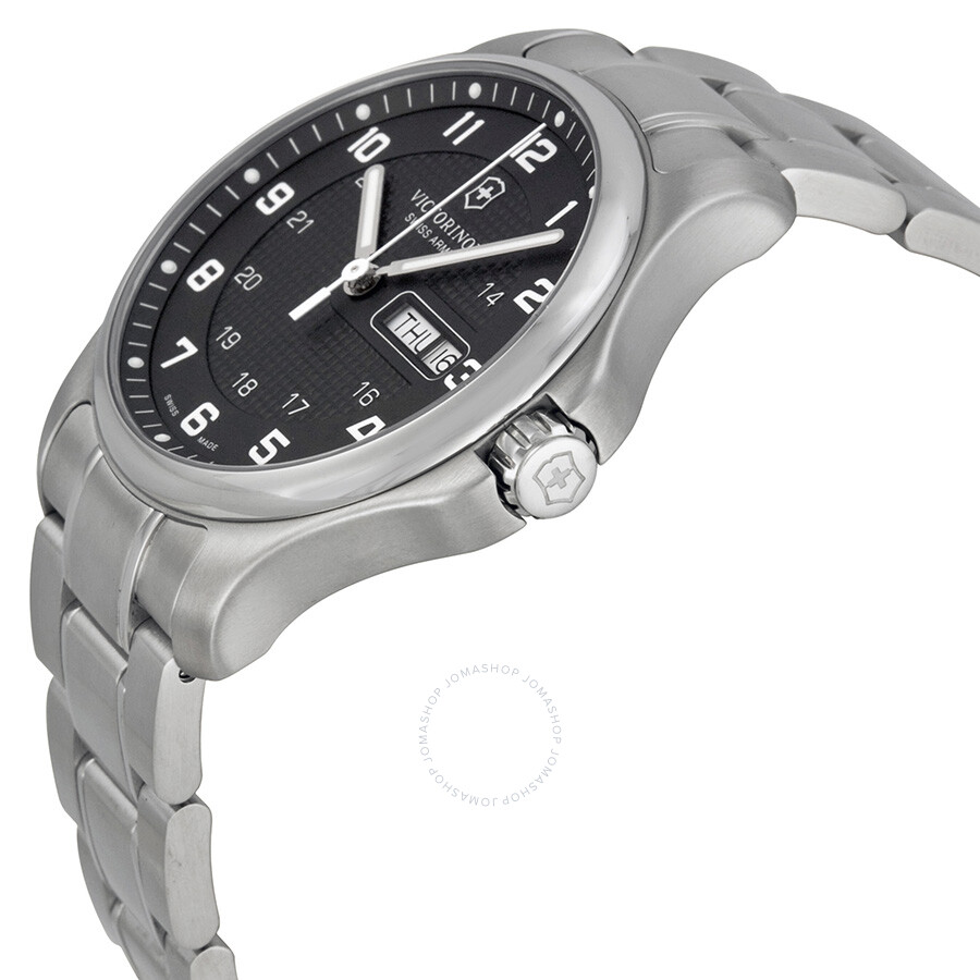how to set time on victorinox watch
