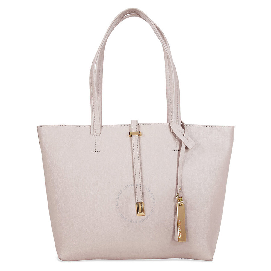 Vince Camuto Leila Small Saffiano Tote Driftwood