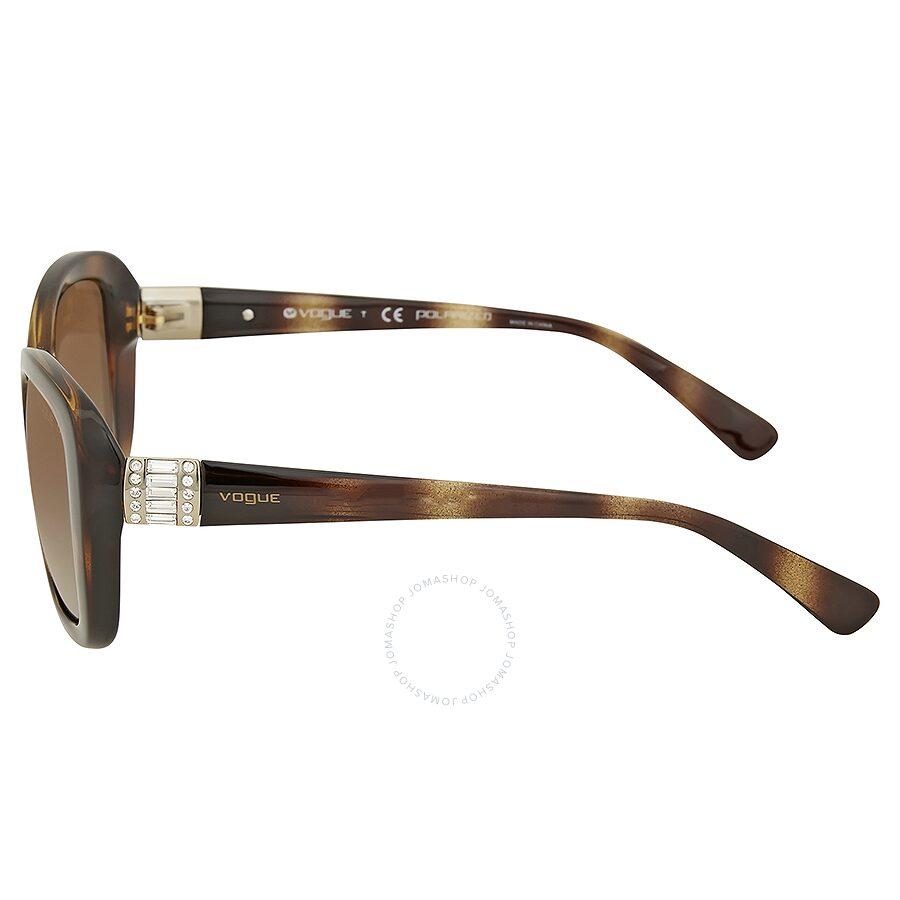 d3962a9ae2 Vogue Polarized Brown Gradient Sunglasses - Vouge - Sunglasses ...