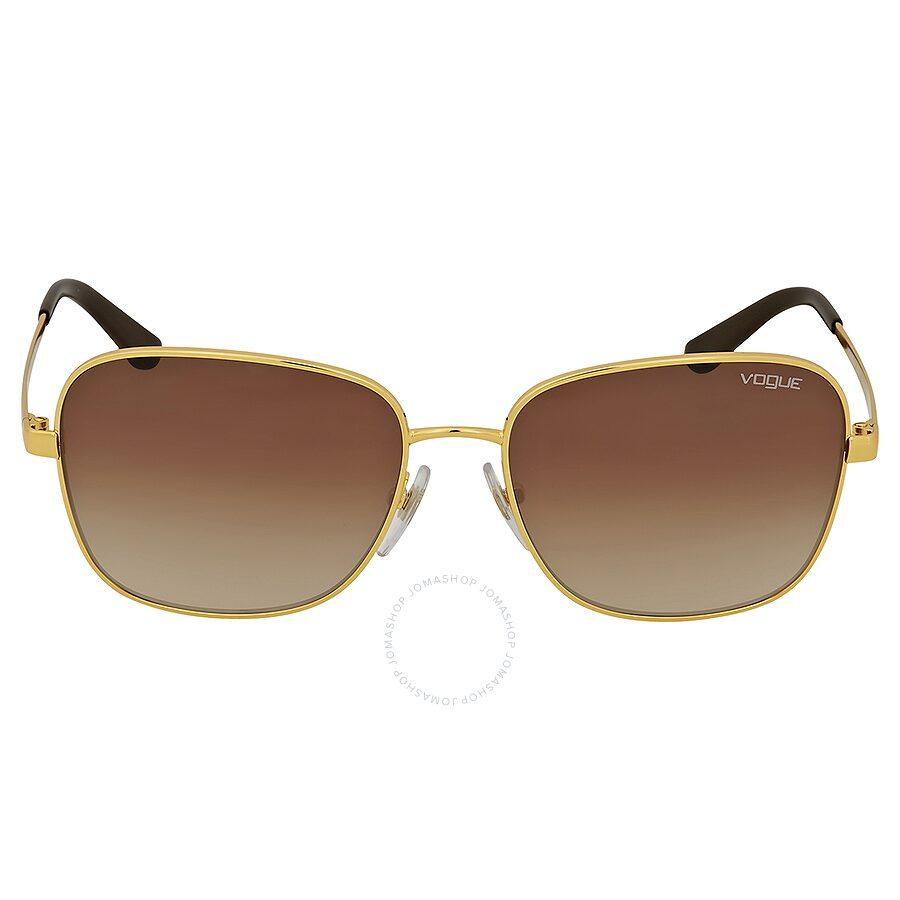 919a75f4eb5e8 Vogue Square Brown Gradient Sunglasses - Vouge - Sunglasses - Jomashop
