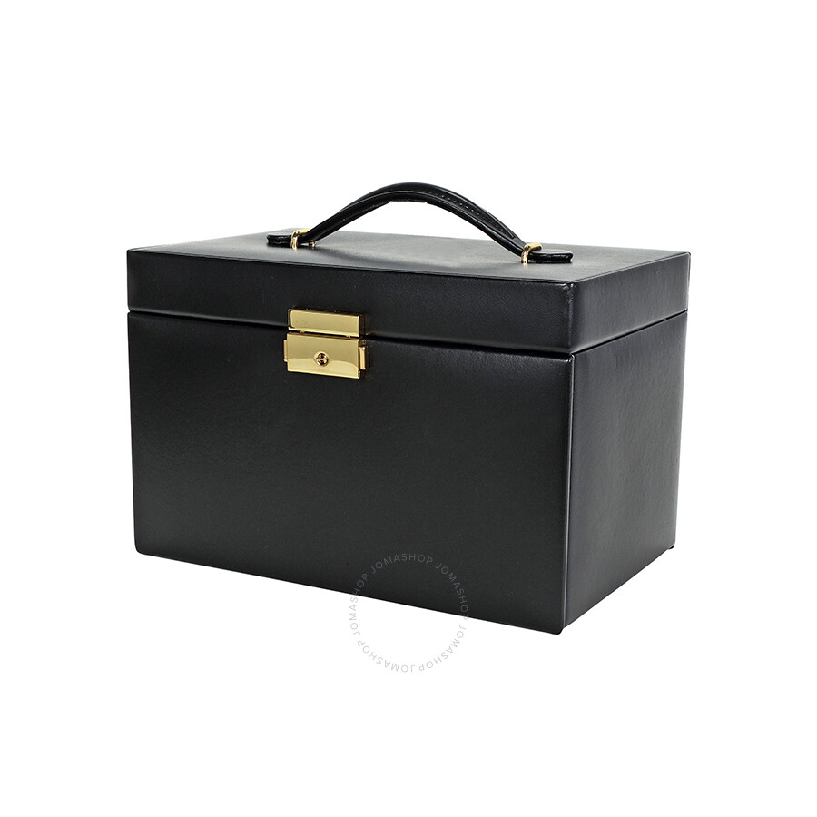 Wolf Designs Heritage Chelsea Large Jewelry Box with Travel Case