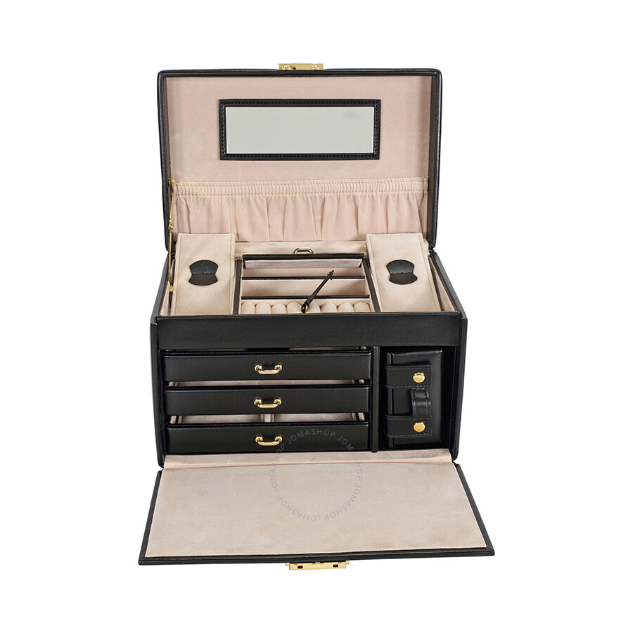 Wolf Designs Heritage Chelsea Large Jewelry Box With