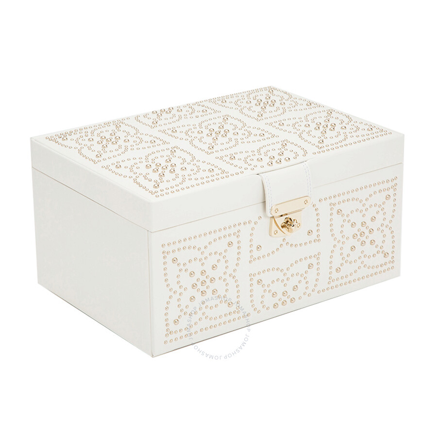 50d9017c6e3b Wolf Medium Cream Marrakesh Jewelry Box 308153 - Jewelry Accessories ...