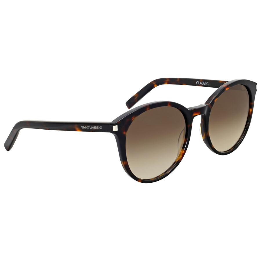 Yves saint laurent brown havana sunglasses yves saint for Miroir yves saint laurent