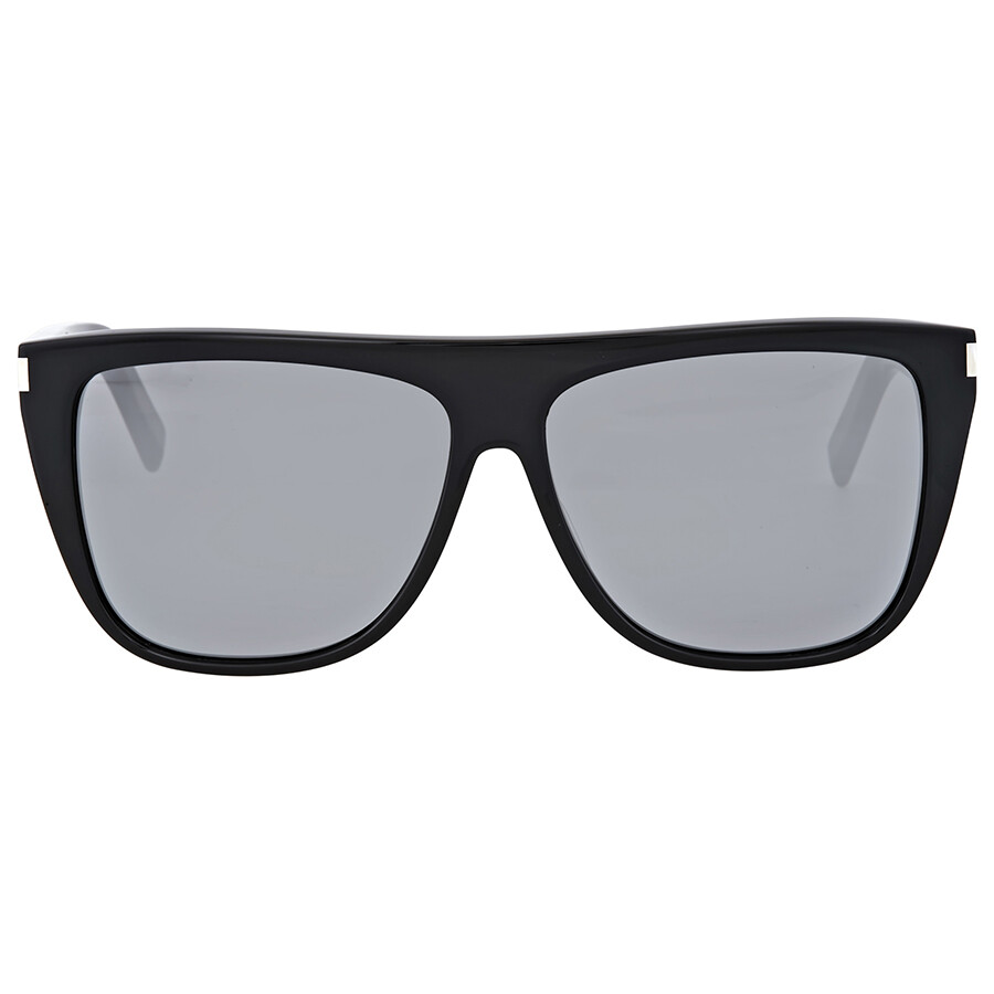 Yves saint laurent grey mirror sunglasses yves saint for Miroir yves saint laurent