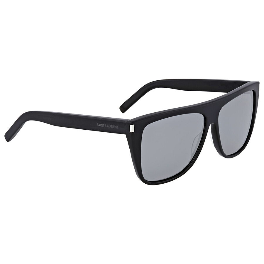 1a07dd12af Yves Saint Laurent Grey Mirror Sunglasses - Yves Saint Laurent ...