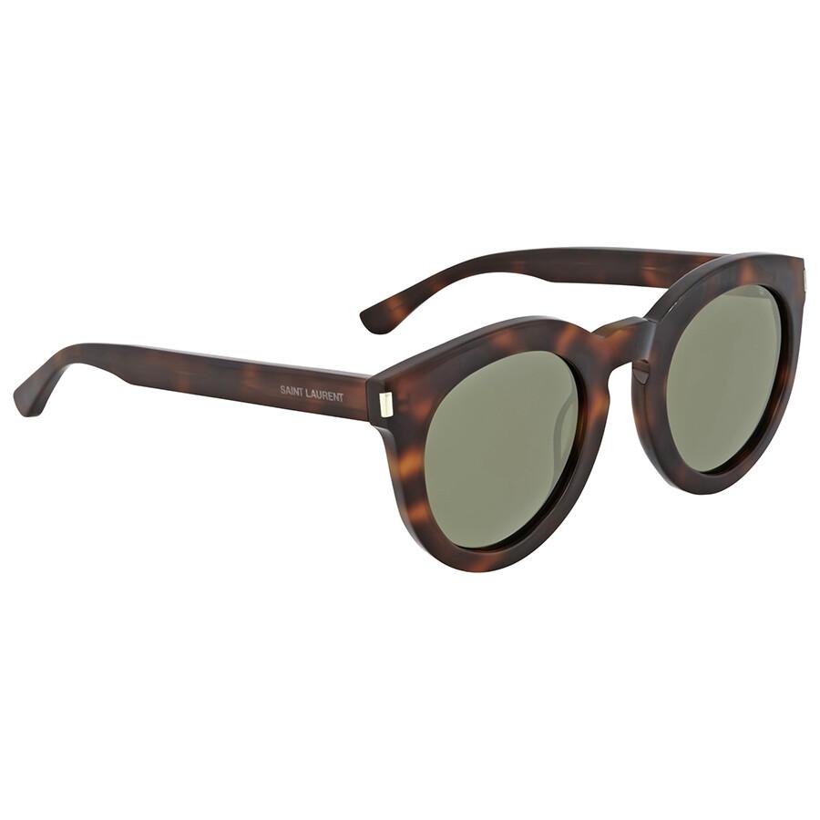 Yves saint laurent havana round sunglasses yves saint for Miroir yves saint laurent