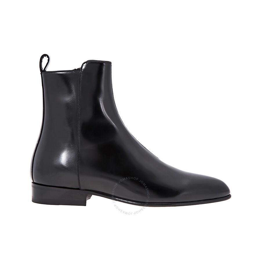 a3e820a78c4 Saint Laurent Men's Eli 25 Zip Boot - Designer Footwear Sale - Deal ...