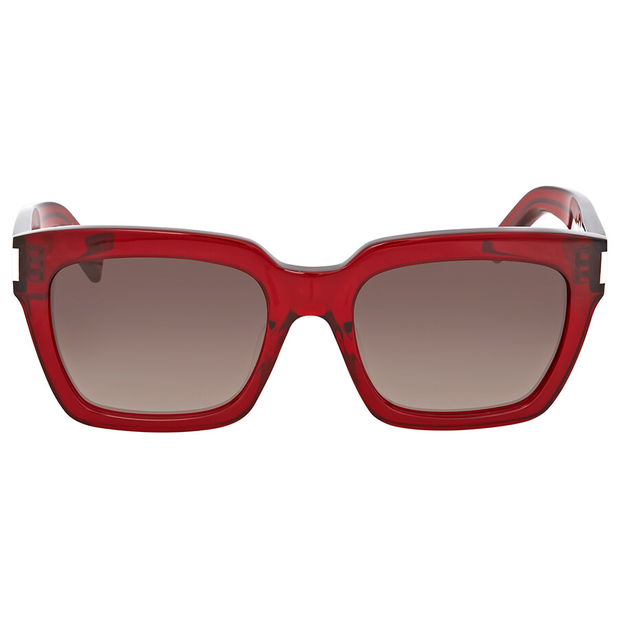 d3ddf746b4 Yves Saint Laurent Red Square Sunglasses - Yves Saint Laurent ...