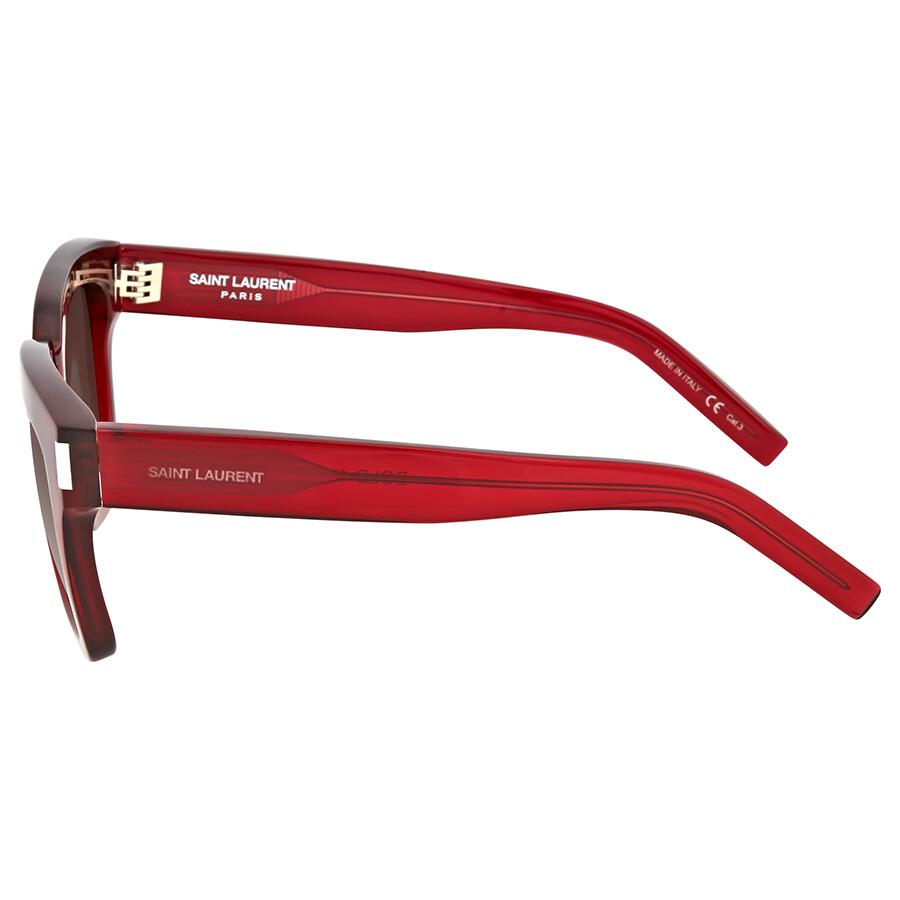 2d1b76bedef Yves Saint Laurent Red Square Sunglasses Yves Saint Laurent Red Square  Sunglasses ...