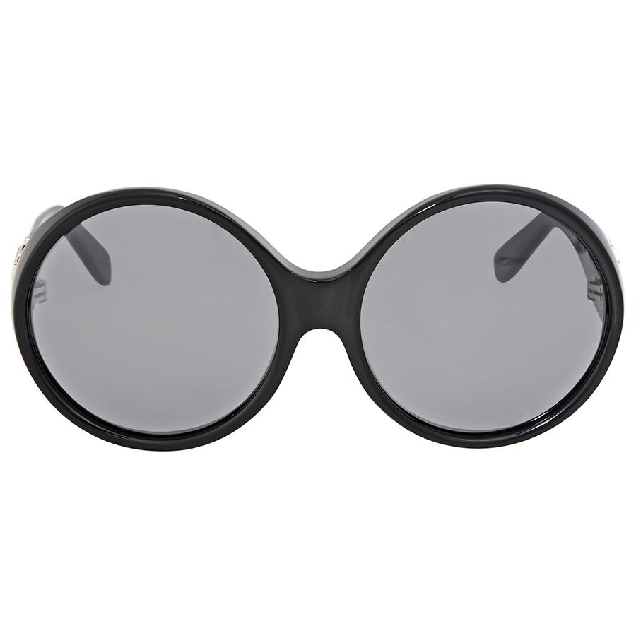 96c940400 Saint Laurent Silver Lenses Oval Sunglasses - Saint Laurent ...
