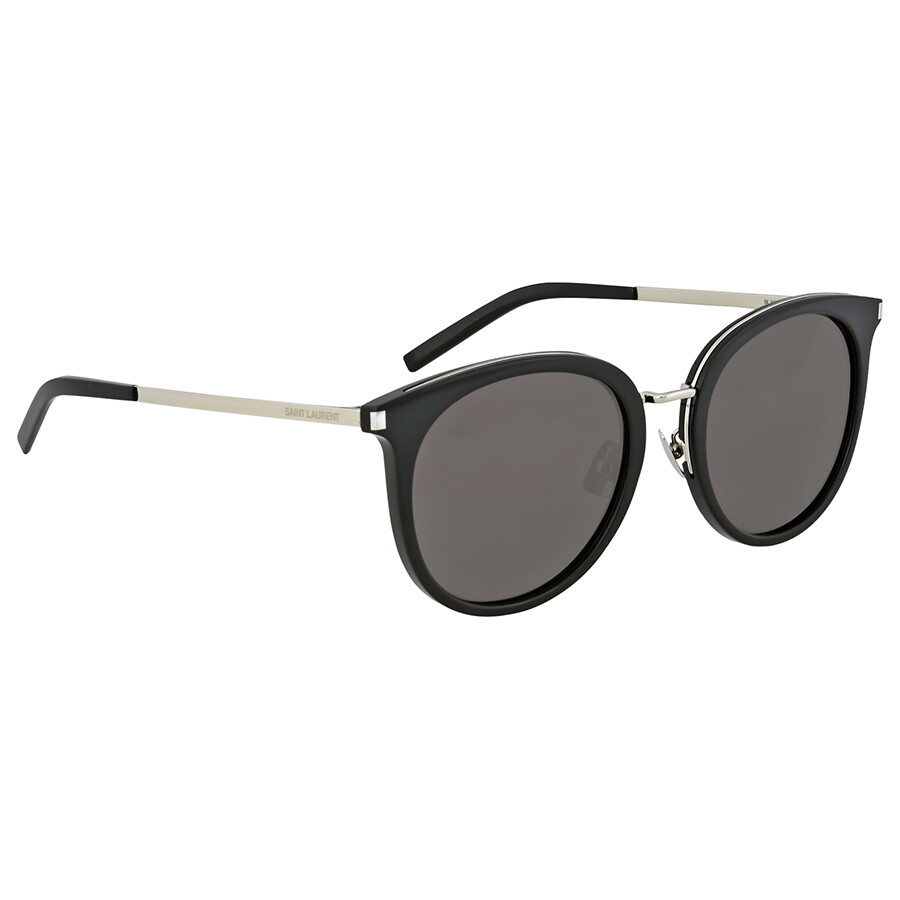 Yves Saint Laurent Smoke Cat Eye Sunglasses
