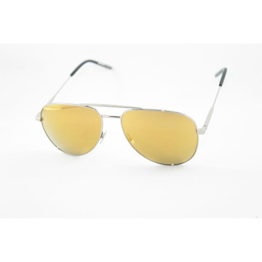 5c8864c03 Yves Saint Laurent Yellow Mirror Aviator Sunglasses Item No. CLASSIC 11 006  55