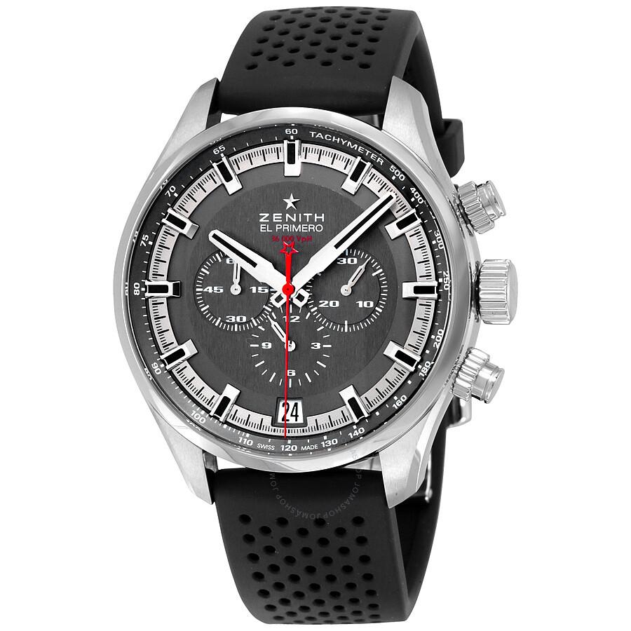 Zenith El Primero Grey Dial Chronograph Automatic Men's ...