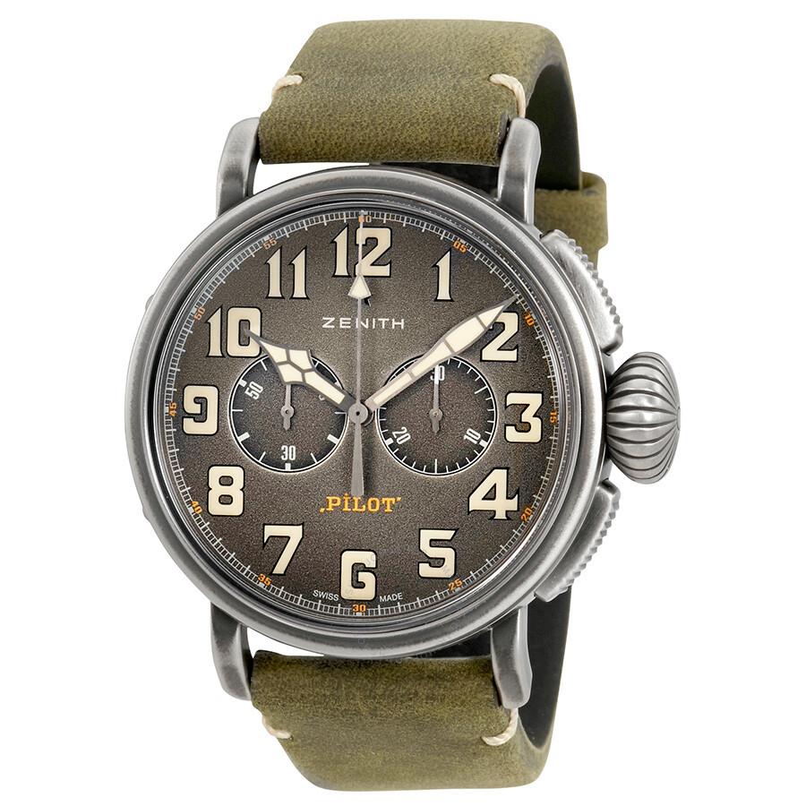 bb8d129e1e0 Zenith Heritage Pilot Type 20 Chronograph Automatic Men s Watch  11.2430.4069 21.