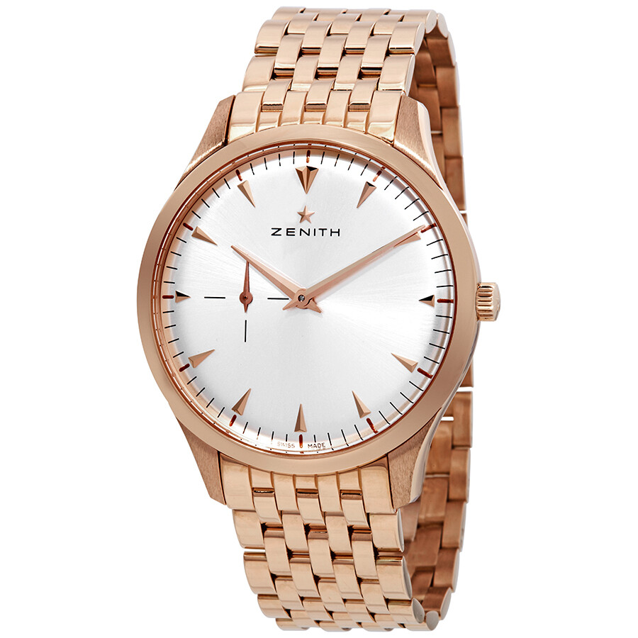b3230469eb9 Zenith Herie Ultra Thin Small Seconds Silver Dial Rose Gold Men S
