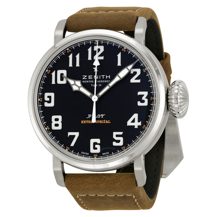 Zenith pilot 20 extra special men 39 s watch 032430300021c738 pilot zenith watches jomashop for Zenith watches