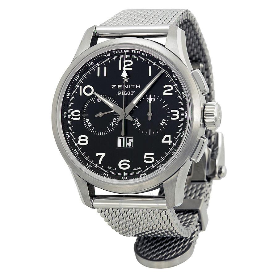 1005f9806fa Zenith Pilot Automatic Chronograph Men s Watch 032410401021M2410 Item No.  03.2410.4010 21.M2410