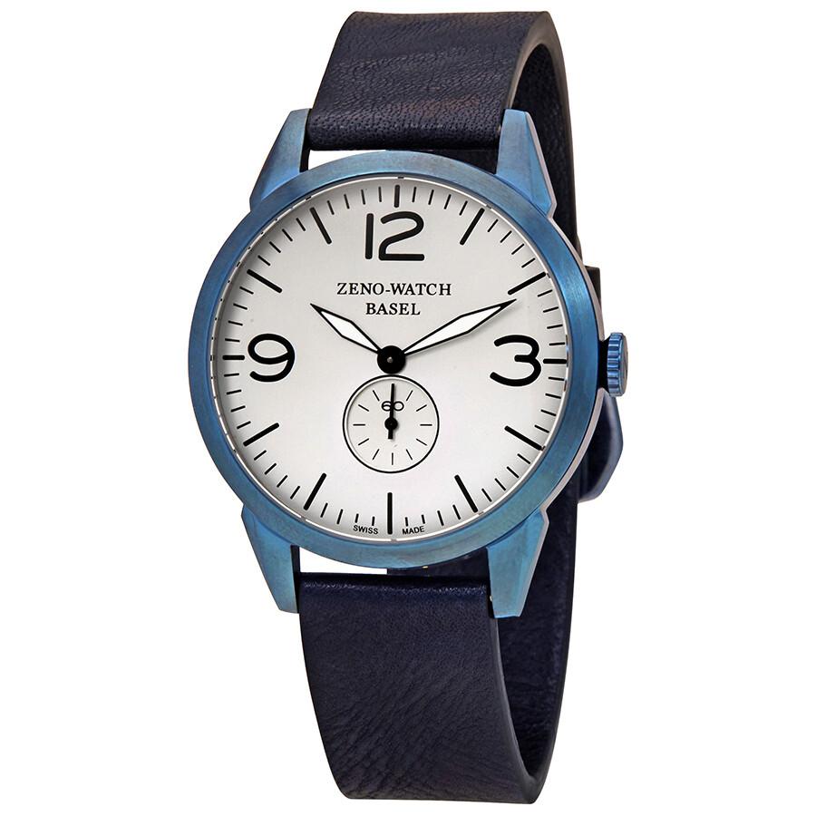 368b364afed Zeno Vintage Line White Dial Men s Watch 4772Q-BL-A3-1 - Zeno ...