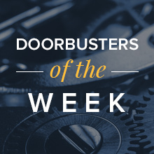 Doorbusters of the week