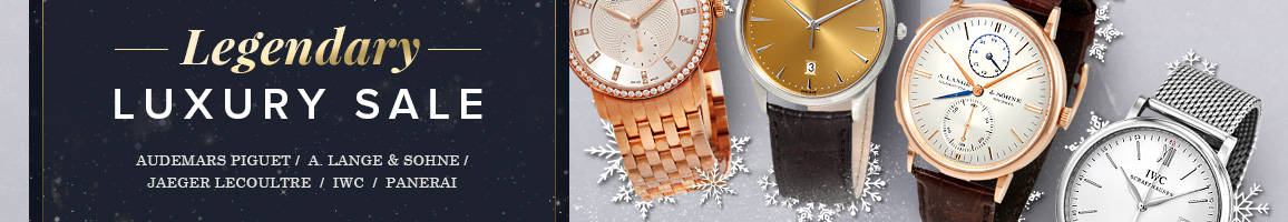 Luxury Watches Holiday Event