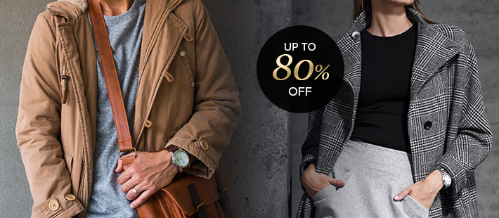 DESIGNER APPAREL BLOWOUT: UP TO 80% OFF