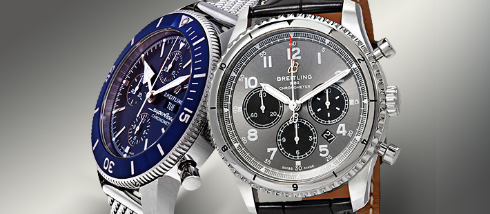 BREITLING: UP TO 43% OFF