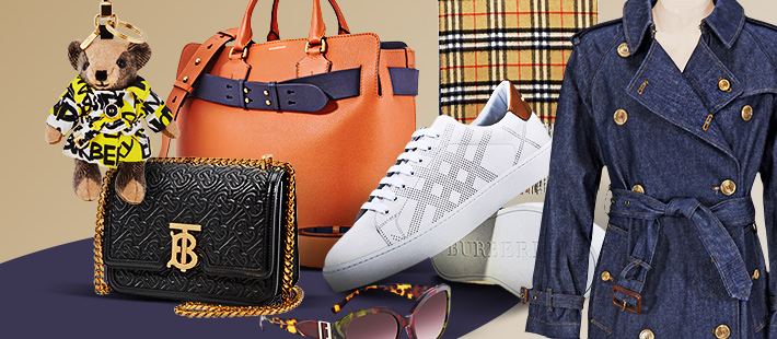 BURBERRY: UP TO 61% OFF.