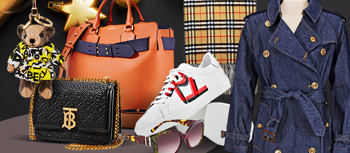 BURBERRY: NEW ARRIVALS UP TO 56% OFF