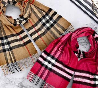 BURBERRY SCARVES: UP TO 52% OFF