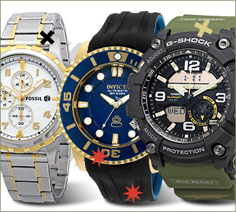 FASHION WATCHES BINGE 2: UP TO 93% OFF